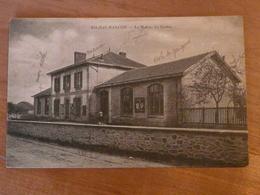 CPA 2 - Carte Postale Ancienne - Rilhac Rancon - La Mairie Et Les écoles - Sonstige Gemeinden