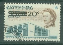 Antigua: 1970   QE II - Pictorial - Surcharge   SG256    20c On 25c   Used - Antigua & Barbuda (...-1981)