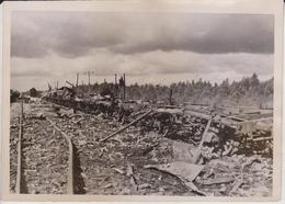 RUSSIA TRENES TRAMWAY SOWJETS FOTO DE PRESSE WW2 WWII WORLD WAR 2 WELTKRIEG Aleman Deutchland - Trenes