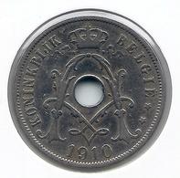 ALBERT I * 25 Cent 1910 Vlaams * Nr 9641 - 05. 25 Centimes