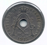 ALBERT I * 25 Cent 1913 Frans * Nr 5161 - 05. 25 Centimes