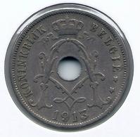 ALBERT I * 25 Cent 1913 Vlaams * Nr 5162 - 05. 25 Centimes