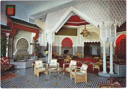 Tanger - Hotel Riff: Salon Arabe - (Maroc) - Tanger