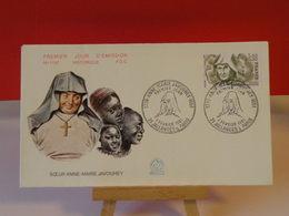 Soeur Anne Marie Javouhey - 21 Jallanges & Paris - 7.2.1981 FDC 1er Jour N°1197 - Coté 2€ - FDC