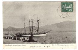 CALVI (20) - Le Port - Ed. Coll. J -B. Buéri, Calvi - Cliché A. Fabiani, Photographe-amateur - Calvi