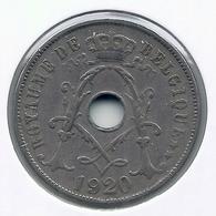 ALBERT I * 25 Cent 1920 Frans * Nr 5165 - 05. 25 Centimes