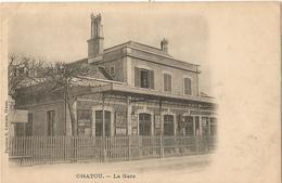 CHATOU - La Gare - Chatou