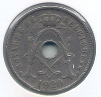 ALBERT I * 25 Cent 1920 Frans * Nr 5167 - 05. 25 Centimes