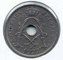 25 Cent 1922 Vlaams * F D C * Nr 5169 - 05. 25 Centimes