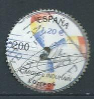 ESPAGNE ESPAÑA SPAIN ESPAÑA  2000 SPORTS DEPORTE. MIGUEL INDURAIN 200 PTAS USED ED 3761 YV 3328 MI 3593 SG 3701F SC 3062 - 1931-Heute: 2. Rep. - ... Juan Carlos I
