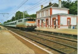 61 La BB 9262 En Gare De CONDE-sur-HUISNE - Estaciones Con Trenes