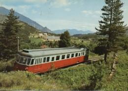 2B  TATTONE  La Micheline - Estaciones Con Trenes