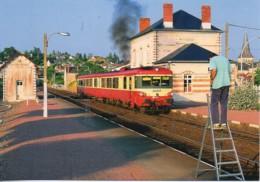 41 Autorail EAD X 4401 En Gare De MONTRICHARD - Estaciones Con Trenes