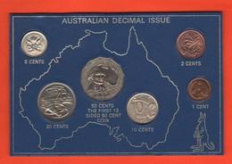 Australia Monete Anno 1970 Set Coins - Australia