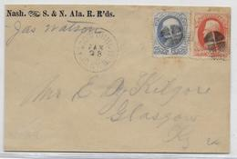 USA - ENVELOPPE LOCALE De GLASGOW JUNCTION - 1847-99 General Issues