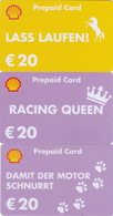 3 Gift Cards  - - -  Germany  - - -  Shell - Gift Cards