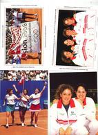 Lot 4 Carte Postale Sion  Taxe Percue  à Voir Tennis - Entiers Postaux