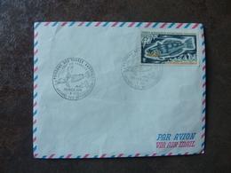 01/01/1971 Poissons Des Terres Australes Archipel Des Kerguelen Cachet 1er Jour - Lettres & Documents