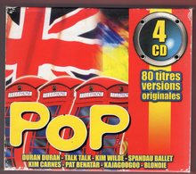 COMPILATION -  VARIOUS ARTISTS - ORIGINAL BEST OF POP - 4 CD - 2000 - Compilations