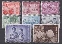 Belgie 1960 Onafhankelijkheid Congo 8v ** Mnh (41964) - Ongebruikt