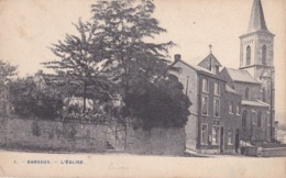 Barvaux L'Eglise Circulée En 1913 - Durbuy