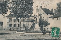CP - France - (03) Allier - Gannat - Monument Des Combattants De 1870-71 - Frankrijk