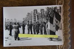 Finistère Brest Visite Du  Général De Gaulle Photo12x8  Juillet 1945 Guerre Militaire Décoration - Brest