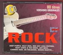 COMPILATION -  VARIOUS ARTISTS - ORIGINAL BEST OF ROCK -  4 CD - 1997 - Compilations