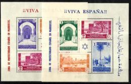 Marruecos Español Nº 167/8 Con Charnela - Maroc Espagnol