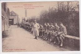 59 STEENWERCK Brasserie Plouvier Une équipe De Prisonniers Boches ,Allemands ,Geran Prisoners ,écrit Précisant Que 300 - France