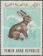 MH STAMPS North-Yemen - Domestic Animals-1966 - Yemen