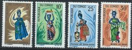 Congo-Brazzaville YT 207-210 XX /MNH Costume - Congo - Brazzaville