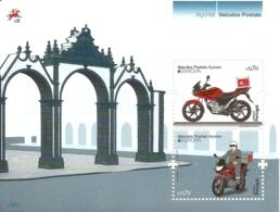 Portugal Azores Açores 2013 Europa CEPT - Motorcycle  Souvenir Sheet MNH - Europa-CEPT