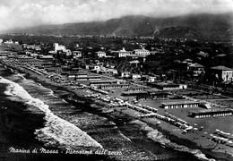 MASSA-MARINA-PANORAMA AEREO-1953 - Massa