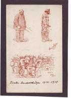 Alte AK Tiroler Standschützen Offiz. Karte Für Das Rote Kreuz 1915 – No. 472 - Guerra 1914-18