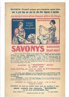 92 Levallois Perret  Lot De 10 Publicités  Savonys Face Plus Dos - Livres, BD, Revues