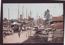 Old PC Nederl. Indie, Indonesie, Indonesia, Borneo, Harbour, Bandjermasin 1910-20 - Indonésie