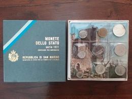 SAN MARINO - Confezione Anno 1977 Completo - F.D.C. + Spese Postali - Saint-Marin