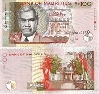MAURITIUS       100 Rupees       P-56[f]       2017       UNC - Maurice