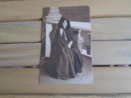 Carte Assez Rare De 1917 , S. Michel , Capote E Capelo ( Couverture Complète Pour Femmes ) - Açores