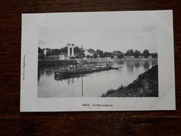 Gray. Le Pont Suspendu - Gray