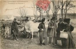 AVEYRON PITTORESQUE TOMBERONT ILS D'ACCORD MARCHANDS DE BESTIAUX - Laguiole