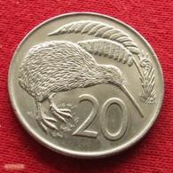 New Zealand 20 Cents 1973 KM# 36.1 *V2  Nova Zelandia Nuova Zelanda Nouvelle Zelande - Nouvelle-Zélande