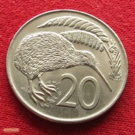 New Zealand 20 Cents 1973 KM# 36.1 *V2  Nova Zelandia Nuova Zelanda Nouvelle Zelande - New Zealand