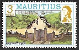 MAURICE 1978 -  Mauritius - YT  459 - Place D'armes-  Oblitéré - Maurice (1968-...)