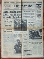 Journal L'Humanité (24 Mars 1966) Assurés Sociaux - Juliette Gréco - - 1950 - Today