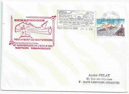YT 3019 - Iles Sanguinaires - Sécap De Toulon Instruction Marine - Sémaphores - Cachets Militaires A Partir De 1900 (hors Guerres)