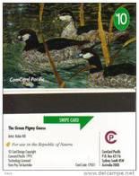 NAURU $10 DUCK BIRD No1 PLUS $15 STAMP FUNDS RAISING ONLY 1500 ISSUED MINT SPECIAL PRICE !!READ DESCRIPTION ! - Nauru