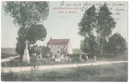FONTENOY-la-JOUTE (54) ROUTE De BACCARAT. CARTE COLORISEE. - Andere Gemeenten