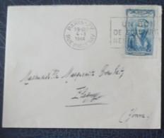LETTRE DE 1944  AVEC NO  595 SEUL - Marcophily (detached Stamps)